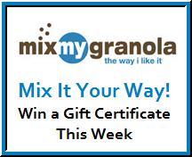 Mixmygranola giveaway