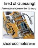 Shoe odometer