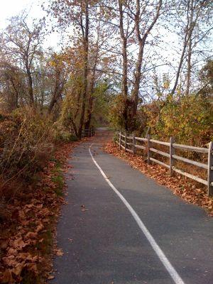 Picturesque trail