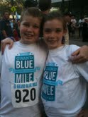 Tucker and rebecca at grand blue mile